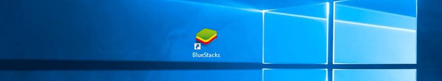Ярлык Bluestacks на рабочем столе