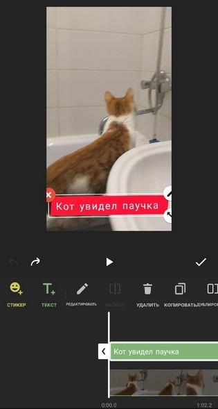 Удаление текста с видео